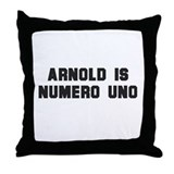 Arnold is numero uno -  Throw Pillow