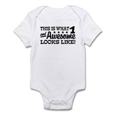 Funny One Year Old Infant Bodysuit
