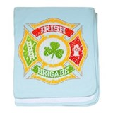 Irish Brigade baby blanket