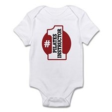 #1 Pilates Instructor Infant Bodysuit