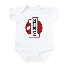 #1 Pet Sitter Infant Bodysuit
