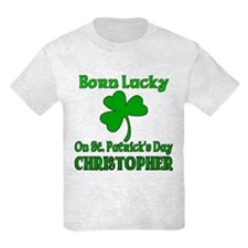 Custom Christopher T-Shirt