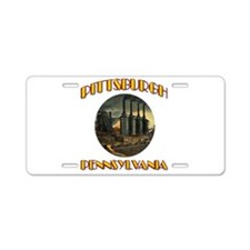 Pittsburgh Pennsylvania Aluminum License Plate