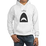 Cute Mega shark vs. octopus Hoodie