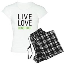 Live Love Construct Pajamas