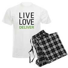 Live Love Deliver Pajamas
