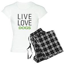 Live Love Dogs Pajamas