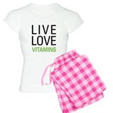 Live Love Vitamins Pajamas