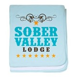 Sober Valley baby blanket