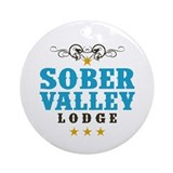 Sober Valley Ornament (Round)