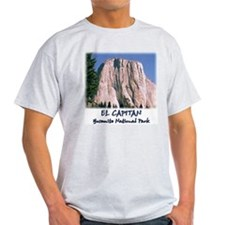 El Capitan w/ blue sky t-shirt--ash grey