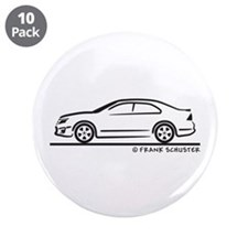 "Ford Fusion 3.5"" Button (10 pack)"