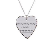 Cute Gay and lesbian Necklace Heart Charm
