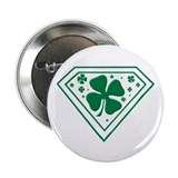 "Super Shamrock 2.25"" Button"