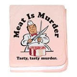 Meat Is Murder baby blanket