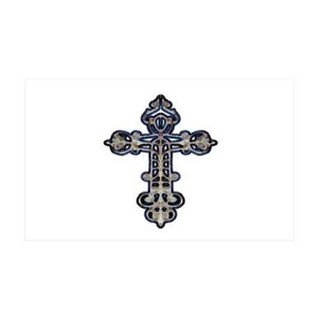 Ornate Cross 38.5 x 24.5 Wall Peel