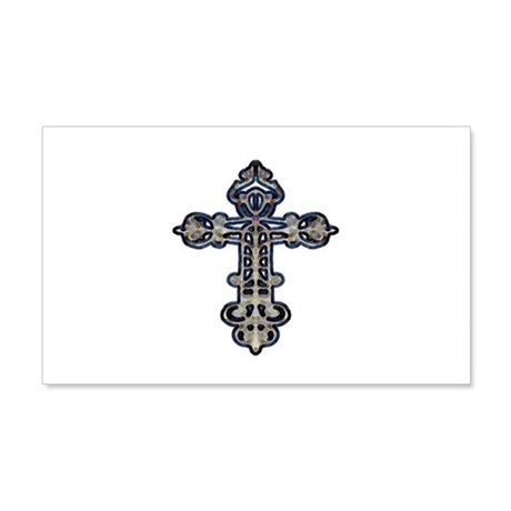 Ornate Cross 22x14 Wall Peel