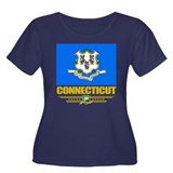 Connecticut Pride Women's Plus Size Scoop Neck Dar
