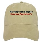 My baby's IQ is higher than my President's - Cap