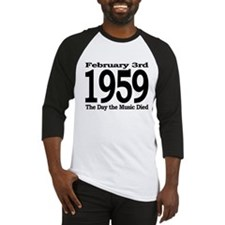 1959 - The Day the Music Died Baseball Jersey