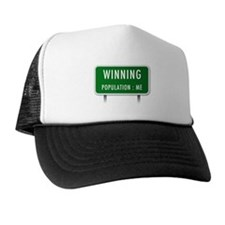 Winning Population : ME Trucker Hat