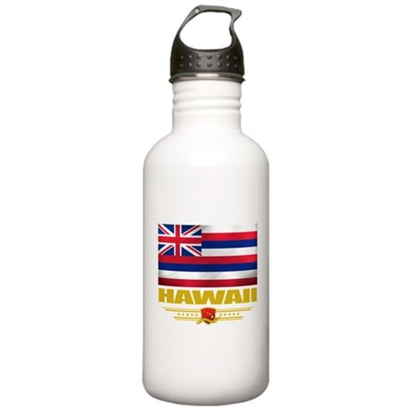 Hawaiian Pride Stainless Water Bottle 1.0L