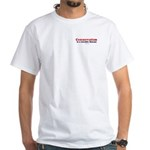 Conservatism is a curable disease - White T-shirt