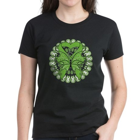 Non-Hodgkins Butterfly Women's Dark T-Shirt