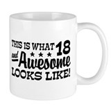 Funny 18th Birthday Small Mug
