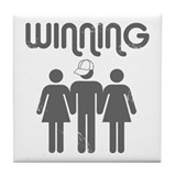 Winning Tile Coaster