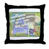 Retired Teacher II Throw Pillow
