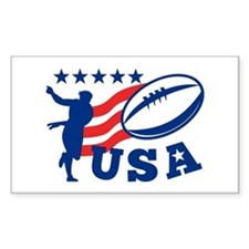 American USA Rugby Decal