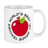 World's Best 1st Grade Teacher Gift Coffee Mug