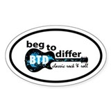 beg to differ Decal