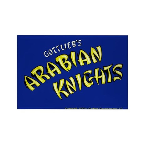 "Gottlieb® ""Arabian Knights"" Rectangle Magnet"