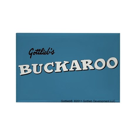 "Gottlieb® ""Buckaroo"" Rectangle Magnet"
