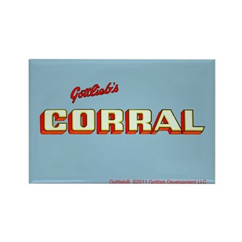 "Gottlieb® ""Corral"" Rectangle Magnet"