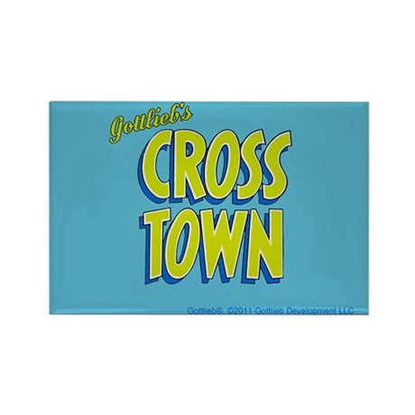 "Gottlieb® ""Cross Town"" Rectangle Magnet"