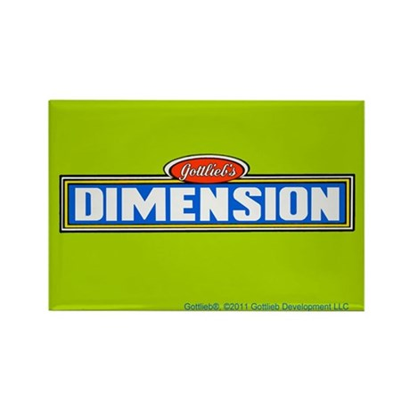 "Gottlieb® ""Dimension"" Rectangle Magnet"