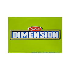 "Gottlieb® ""Dimension"" Rectangle Magnet"