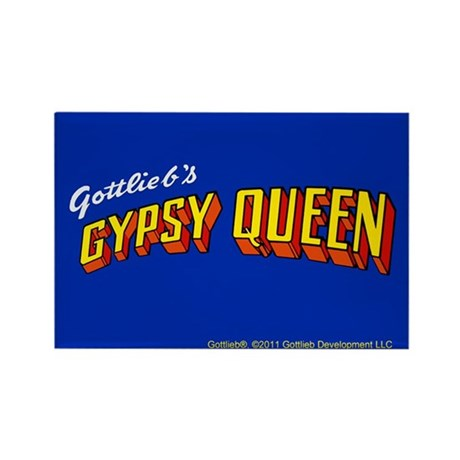 "Gottlieb® ""Gypsy Queen"" Rectangle Magnet"