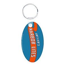 """Gottlieb® """"Harbor Lites"""" Aluminum Oval Keychai"""