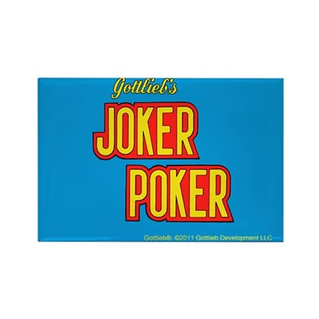 "Gottlieb® ""Joker Poker"" Rectangle Magnet"