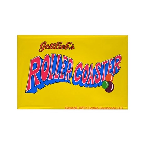 "Gottlieb® ""Roller Coaster"" Rectangle Magnet"