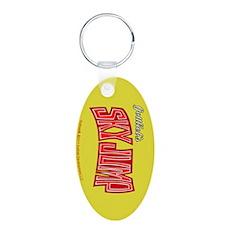 """Gottlieb® """"Sky Jump"""" Aluminum Oval Keychain"""