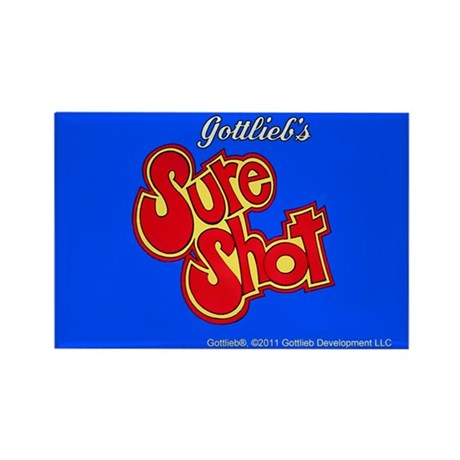 "Gottlieb® ""Sure Shot"" Rectangle Magnet"