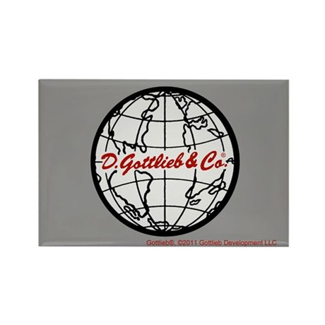 "Gottlieb® ""World"" Logo Rectangle Magnet"
