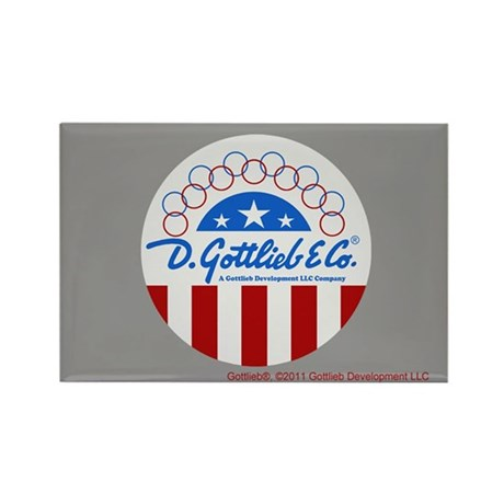 "Gottlieb® ""Stars & Stripes"" Logo Rectangle Mag"