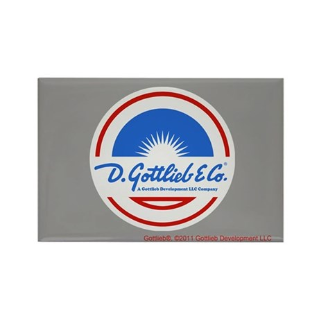 "Gottlieb® ""Sunburst"" Logo Rectangle Magnet"