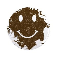 "Mud Face 3.5"" Button (100 pack)"